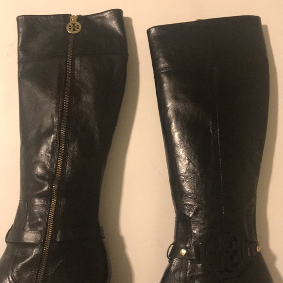 c7ea445f41f Tory Burch black riding boot. M 5a56df27a44dbe36720008fa